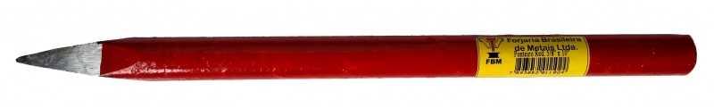 Descrição:Forjado em aço trefilado e temperado e ambas as pontas, para aumentar a vida útil da ferramenta.